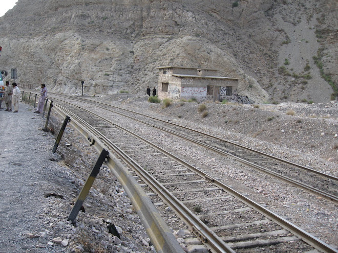 Railway Line through the Bolan Pass