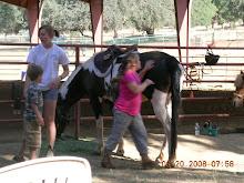 Mary at Horse Camp 2008