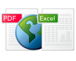Convert PDF to Excel Spreadsheet online for free