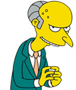 Montgomery Burns  Harry Shearer  - The SimpsonsSimpsons Characters Mr Burns