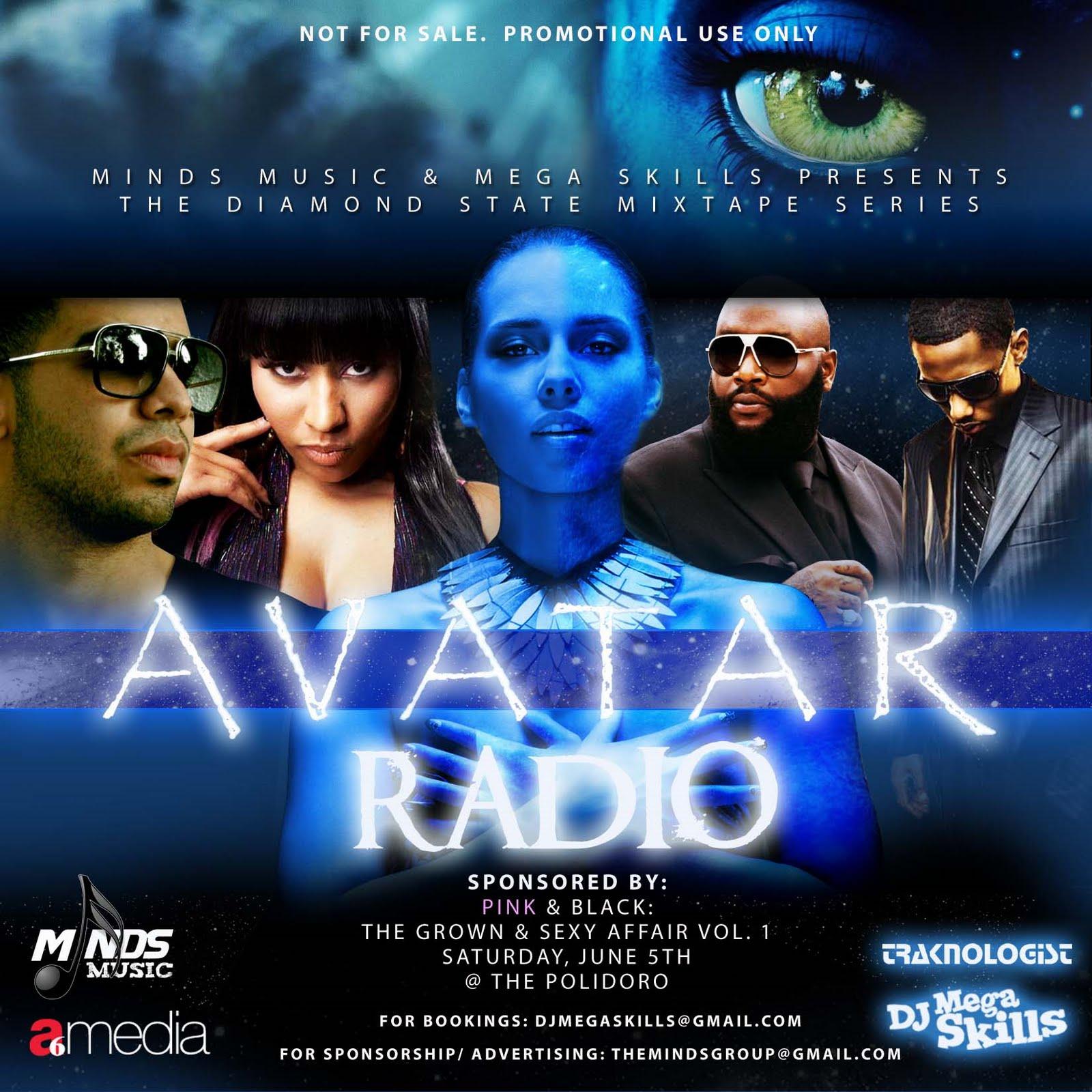Avatar 2 Dj: FLEET DJ WORLD: DJ Mega Skills AVATAR RADIO MIXTAPE