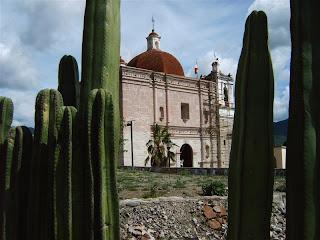 Paysages du Mexique - Mitla, eglise