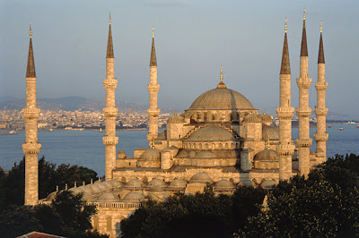 Hagia Sophia overlooking the Bosphorus