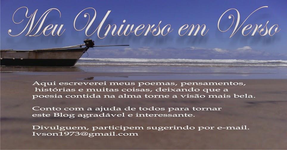 Meu Universo Em Verso