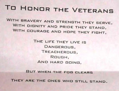 Inspirational Veterans Day Poems