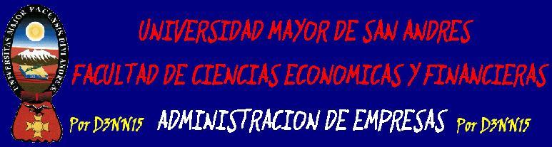 ADMINISTRACION DE EMPRESAS-UMSA
