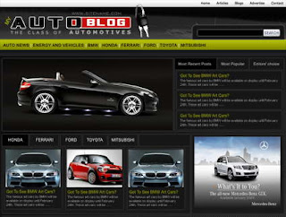 Today Auto News Blog Theme