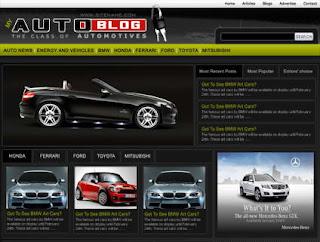 Today Auto News Blog Theme
