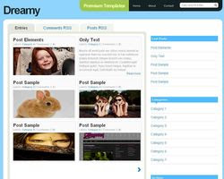 Blogger Template Dreamy