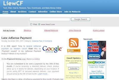 LiewCF.com Technology Web How-to Reviews Tips Downloads Make Money Online