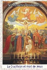 La Crucifixion et mort de Jesus
