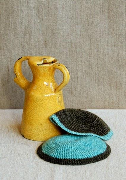 TimaryArt: Free Yarmulke Crochet Pattern for Passover