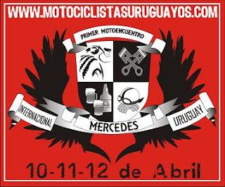 Primer motoencuentro de Motociclistas Uruguayos - Abril 2009 en Mercedes, Uruguay