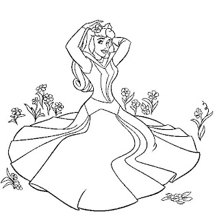 Crayola Coloring Pages on Crayola   Coloring Pages     Disney Princess Aurora