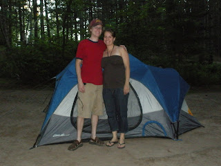 The Exciting Days Of The Meyers Camping At Bent Trout Lake In