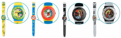 Pokemon Analog Watch PokemonJP