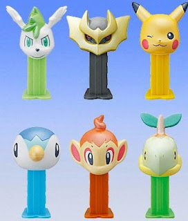 Pokemon mini PEZ DP Platinum color version Bandai