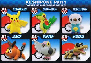 Ensky Pokemon Keshipoke BW 1