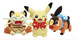 Pokemon Plush Pikachu Meowth Pokabu Oosaka store renewal PokeCenJP