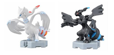 Pokemon Figure MP Reshiram Zekrom overdrive Tomy