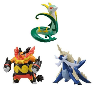 Pokemon Figure Monster Collection Jalorda Enbuoh Daikenki Tomy