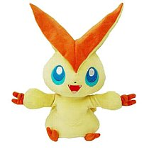 Pokemon BW Plush Victini Fullbody Puppet TTA