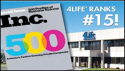 Inc. 500 4Life
