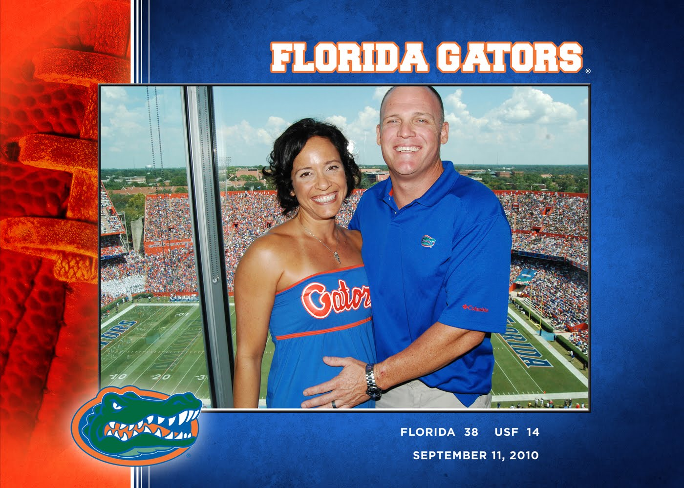 Her First Gator Game