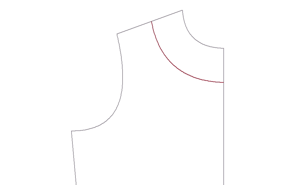 Neckline Drawing : Ikat bag drafting part viii necklines facings and the