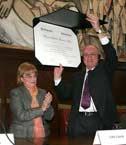 El Profesor Dr. Robert Alexy fue investido como Doctor Honoris Causa por la Universidad de Buenos A