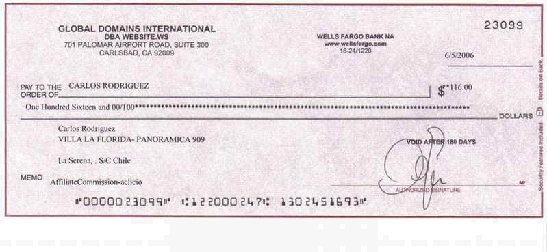 Se Puede Endosar Un Cheque