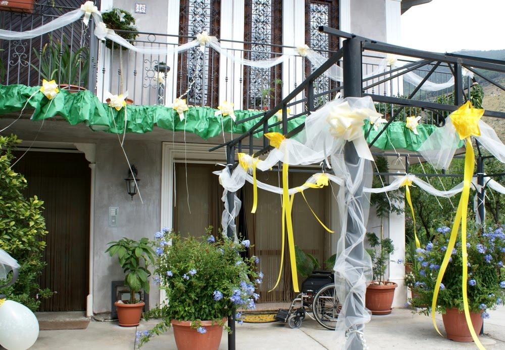 Tutti i colori di cria addobbi a casa della sposa - Addobbi casa per matrimonio ...
