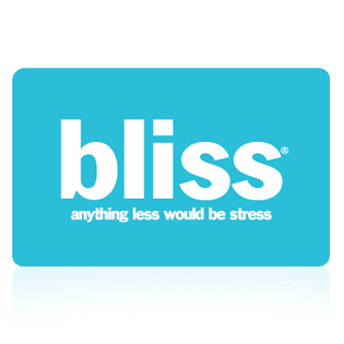 Bliss Spa $100 GIFT CARD
