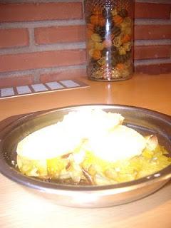 Lasagna Porru eta patatatekin