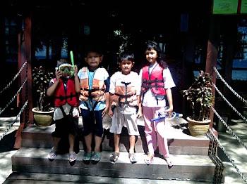 Farisha, Farhan, Aliff & Afezz
