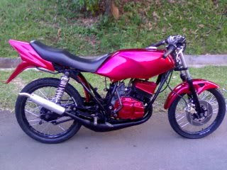 Modification Yamaha RXZ