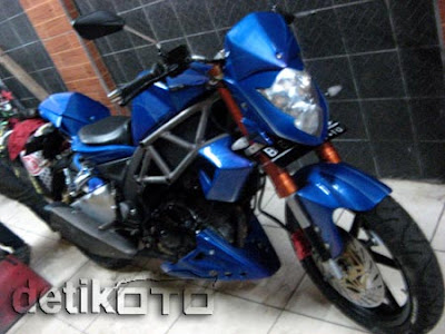 SUZUKI SATRIA FU 2010 MODIFICATION PICTURE