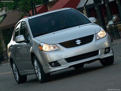 Suzuki Sx4 Sedan 2009. 2008 Suzuki SX4 Sedan