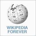 Wikipedia Forever logo