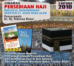 Ceramah Persediaan Haji