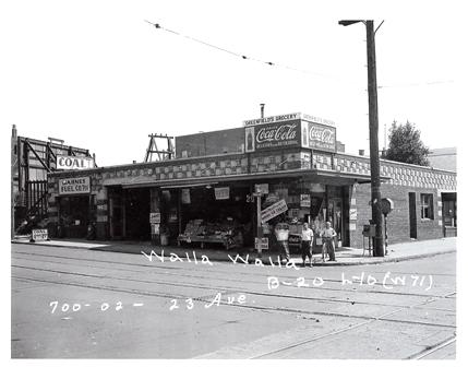 Vintage 23rd & E Cherry (Greenfield's Grocery etc.)
