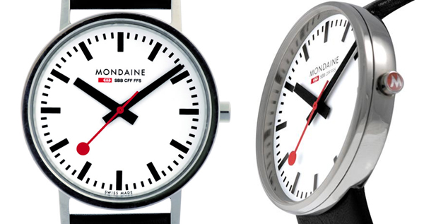 Mondaine Swiss Railway Watch