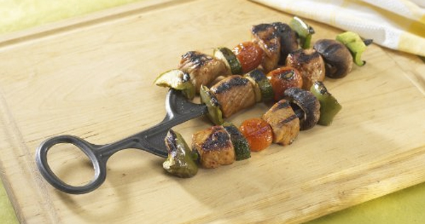 Cactus Kabob Three Prong Skewer