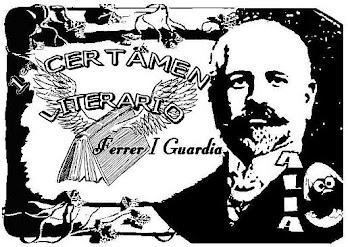 1er CERTAMEN LITERARIO Ferrer I Guardia