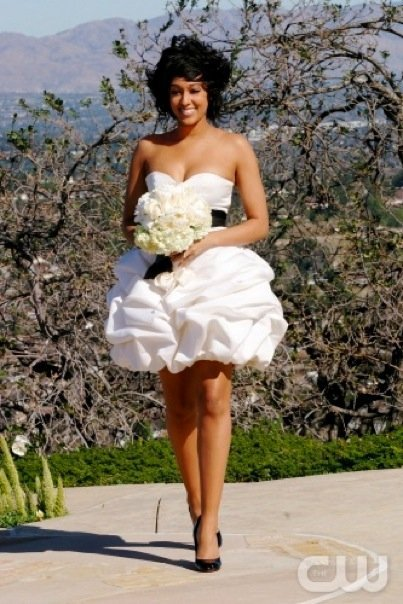 Brides every where are now embracing the short wedding dress