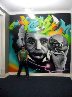 Cool design graffiti letters