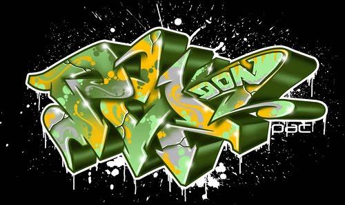Graffiti Letters 3D Street Art Alphabet