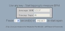 Tap Beats Per Minute