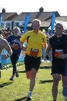 Richard Finishing Great North Run