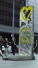 Berlin Wall Piece as sculpture